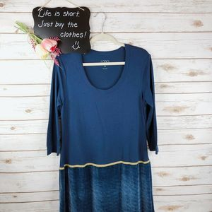 LOGO Lori Goldstein Dress Size M Instant